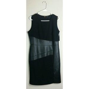NWT ILE New York Black On Black Dress/Stretch/S-10